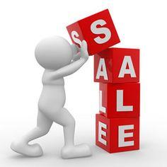 retail sale concept illustration
