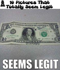 10 Pictures That Totally Seem Legit!