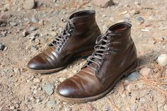 Cigar Shell Cordovan leather