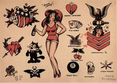 A selection of Sailor Jerry favourites!