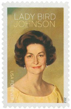 This Day in History marks the birth of First Lady, Lady Bird Johnson.