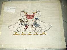 cross stitch duck ebay - Pesquisa Google