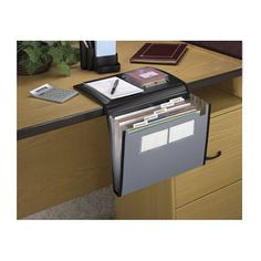 office supply storage solutions | Product image for Get A Grip Expanding File Silv