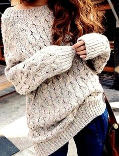 Oversized sweater - Fashion and Love