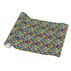 Colorful Stained Glass Rainbow 2183 Gift Wrap paper. $17.95