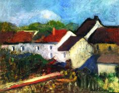 Charles Camoin - Houses at Issy les Moulineaux,1902