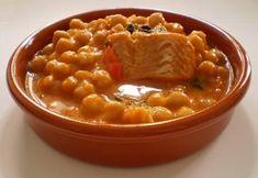 Garbanzos con bacalao olla rapida #Recetas #Cocina #RecetasPasoAPaso #CocinaCasera #RecetasdeCocina #Legumbres #Garbanzos