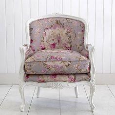 Louis Rose tub chair