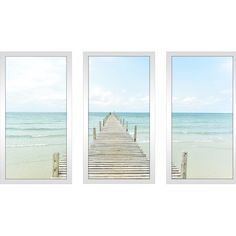 "You'll love the ""By the Dock"" 3 Piece Framed Photographic Print Set at Wayfair - Great Deals on all Décor & Pillows products with Free Shipping on most stuff, even the big stuff."