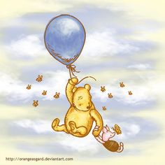 Love these Winnie the Pooh characters and posters :)