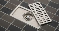 20cm x10cm large-traffic stainless steel bathroom shower square floor waste grate sanitary floor drain HH01 $14.99