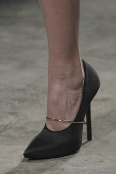 Givenchy - I love the simplicity of this shoe.  It's just a proper bitch pump.  Every girl needs one.