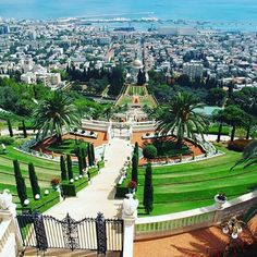 The Bahai Gardens in Haifa: One of the most visited attractions in Israel:  Hananya Naftali's photo.