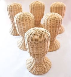Cabeza de maniquí de mimbre de MyThaiFlowers en Etsy https://www.etsy.com/es/listing/200433310/cabeza-de-maniqui-de-mimbre