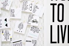 Words To Live By Quote Board   Printable Quotes || Lemon Squeezy Home