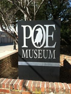 Edgar Allen Poe Museum - bucket list.   People perceived him as strange but how do we know he didn't see more beyond the physical life we know.  His art is from experience....much of what I have experienced.  Though never very wealthy....he left a mark and his words to tell his stories for many lifetimes.  Words are words unless you feel them, same with music....it's not spelled out but I get it.  The best kind.