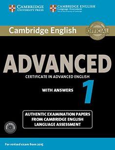 cae advanced certificate cambridge libros