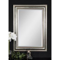 "Uttermost Stuart Mirror Overall: 36.75"" H x 26.75"" W x 1.5"" D  --140"