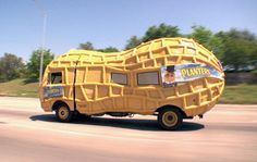 planters nuts truck-The 9 tastiest-looking literal food trucks in the world