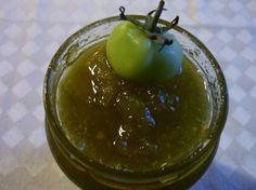 Confiture de tomates vertes, facile et pas cher