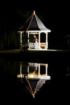 Gazebo, Grand Tradition Estate, Wedding Pictures, Marine Wedding