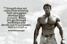Motivational Inspirational Quote Arnold Schwarzenegger Poster – My Hot Posters Poster Store Wisdom Quotes, Quotes To Live By, Me Quotes, Motivational Quotes, Inspirational Quotes, Rocky Quotes, Arnold Schwarzenegger, Fitness Motivation, Fitness Routines