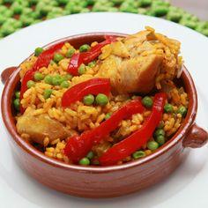 Un plato panameño | Revista Ellas | Panamá Arroz con pollo 'a la chorrera'