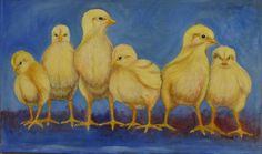 "A Chorus Line, oil on canvas, 19.5"" x 32"", 2015, in the collection of the Steinberg family."