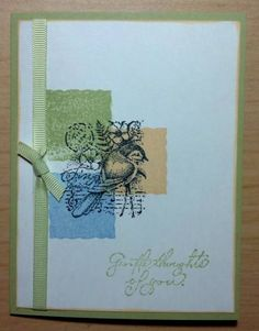 Gentle Thoughts by churchmommy - Cards and Paper Crafts at Splitcoaststampers