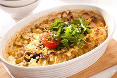 Młode ziemniaczki zapiekane z lekkim sosem z sera twarogowego Curry, Ethnic Recipes, Curries