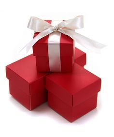 2 PC Favor Boxes - Red 2 Piece Favor Boxes Red] : Wholesale Wedding Supplies, Discount Wedding Favors, Party Favors, and Bulk Event Supplies Wedding Supplies Wholesale, Diy Wedding Supplies, Diy Party Supplies, Wedding Ideas, Craft Supplies, Christmas Colors, Red Christmas, Christmas Tale, Christmas Crafts