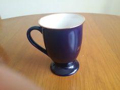 Churchill China England Royal Blue Coffee Mug Cup Roberts Collection