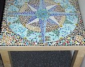 Bottle cap mosaic
