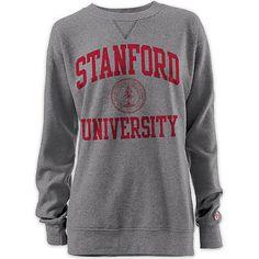 Product: Stanford University Women's Oversized Crewneck Sweatshirt