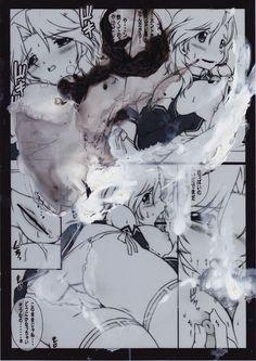 Lot de 2 Dessins Erotiques Originaux Morgan Merrheim Art Singulier BD Sexy Draw