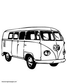 Classic Volkswagen bus