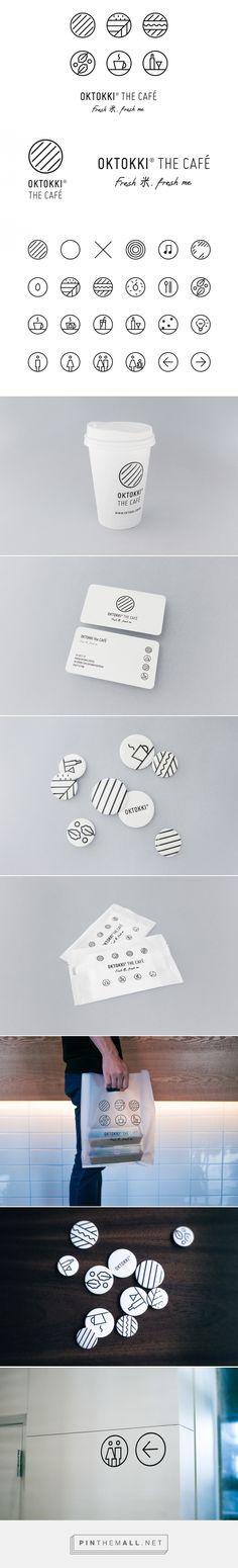 OKTOKKI The Café Branding on Behance - created via https://pinthemall.net