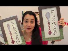 Video Aula: Como Fazer Quadros Gourmet   Livia Fiorelli   LifeArtesanato - YouTube