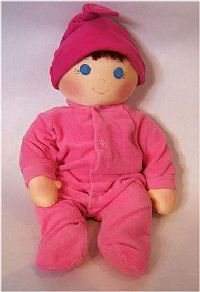 """...back to Index/Home!    Free Pattern!  Free Cloth Doll Pattern by Judi Ward - Baby Bows      Baby Bows  About 18"""" to 20"""" long    A SUPER SIMPLE  AND FUN PATTERN!    by Judi Ward/Judi's Dolls    ©2006"""