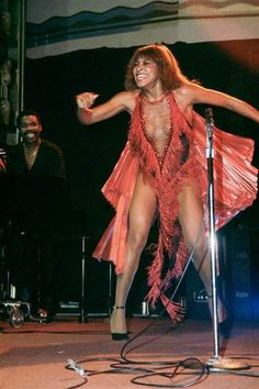 Stage Divas: Tina Turner on stage at the Ritz in New York City in October 1981.