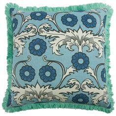 Scroll Pillow by SHOP Thomaspaul | Buy Linen, Reversible, Whimsical Pillows and More Online!
