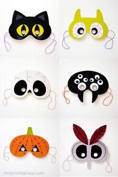 Felt mask, Woodland creatures and Masks on Pinterest