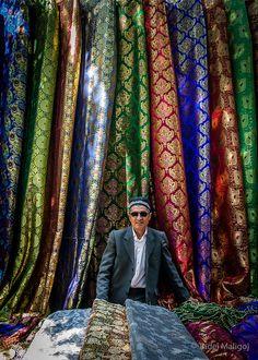 Market, Andijan, Uzbekistan by maligoj, via Flickr