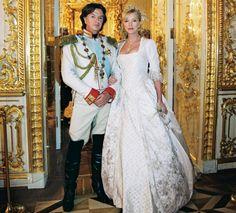 British business man Richard Caring. In November of 2005 an astonishing extravaganza took place in the Catherine Palace of Pushkin (Tsarskoye Selo),