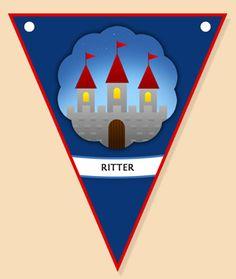 Bastelideen zum Ritter Geburtstag: Vorlagen zum Ausdrucken, Basteleinleitung,