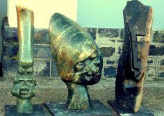 O nível de artesanato que se vê por toda África é um choque! Magníficas esculturas!