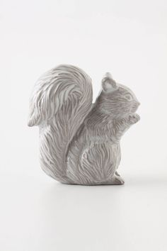 Forestry Guard Knob, Squirrel, love it!saw these @ Anthropologie today.I should've bought them bc I found a cute idea for them! Cupboard Knobs, Dresser Knobs, Door Knobs, Door Pulls, Knobs And Knockers, Anthropologie Uk, Home Hardware, Woodland Creatures, Wood Carving