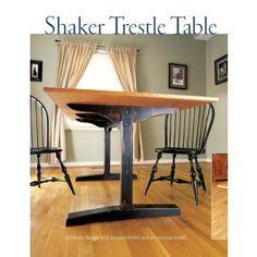 Shaker Trestle Table  Digital Download