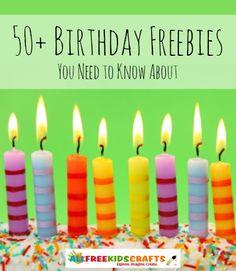 Birthday Freebies: Free Birthday Meals and More Free Birthday Stuff