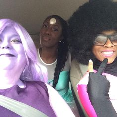 Steven Universe cosplay Pearl, Amethyst and Garnet Epic Cosplay, Awesome Cosplay, Cosplay Dress, Cosplay Outfits, Cosplay Costumes, Garnet Cosplay, Amethyst Cosplay, Big Universe, Steven Universe
